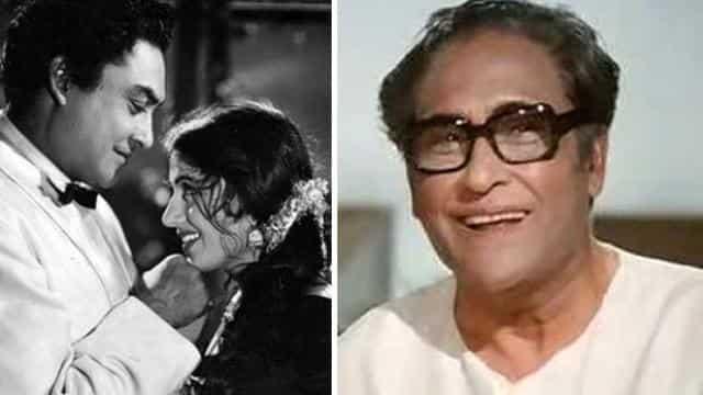 मधुबाला के साथ अशोक कुमार