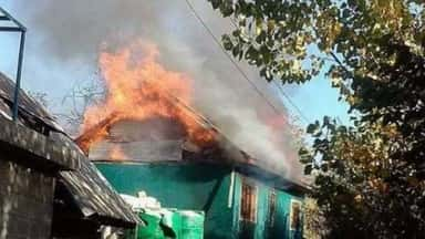 Terrorists Burnt the House of Ex Sarpanch in J&K