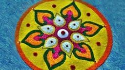 Latest Rangoli Design: दिवाली पर बनाएं ये लेटेस्ट और बेस्ट रंगोली डिजाइन