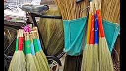 Buying broom on diwali