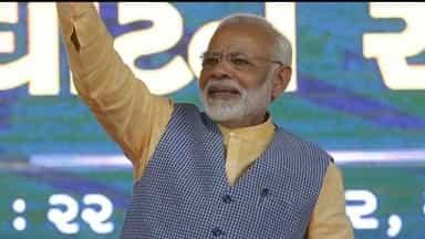 Narendra Modi in Gujarat