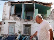 Earthquake strikes Greek