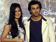 Katrina Kaif and Ranbir attend the song launch event
