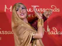 wax statue of actress madhubala