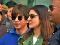 Shahrukh and Anushka