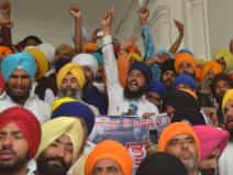 anti national slogans raised in golden temple
