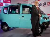 mahindra new mini van jeeto