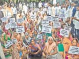 मंगरौरा के ग्रामीणों ने डीडीओ के खिलाफ खोला मोर्चा, कलक्ट्रेट में किया प्रदर्शन
