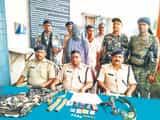 अपराधी रामकुमार यादव गिरफ्तार, दो कार्रबाईन और दस गोली बरामद