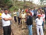 गौरीहाट में बारिश से हुए नुकसान का एसडीएम ने लिया जायजा