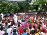 Legislator arrived in Unnao between Shiksha Mitra