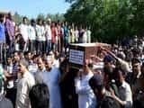 शहीद की अंतिम यात्रा में गूंजे पाकिस्तान मुर्दाबाद के नारे