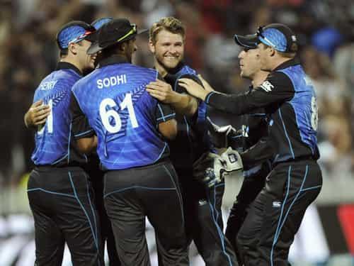 न्यूजीलैंड ने जीती सीरीज
