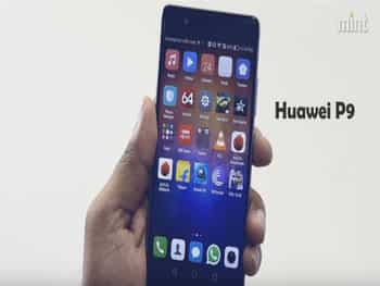 Huawei's new smartphone runs Android 6.0 with a funky-looking custom UI. It comes with a back-facing fingerprint sensor too