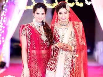 देखें सानिया की बहन की शादी की तस्वीरें