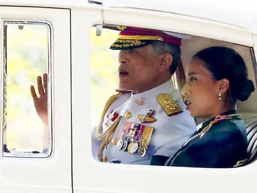 थाईलैंड के नये राजा बने वाजीरालोंग्कोर्न