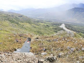 पापुआ में विमान दुर्घटना