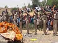सुकमा हमला: शहादत देने वाले जवान को नम आंखों से दी गई श्रद्धांजलि