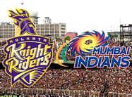 मेजबान केकेआर के सामने मुंबई इंडियंस की मजबूत चुनौती