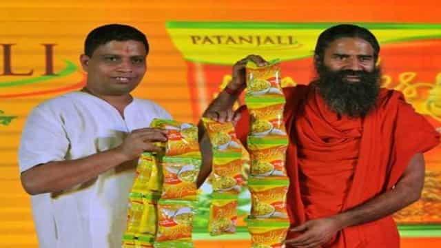 पतंजलि आटा नूडल्स पर रामदेव को नोटिस