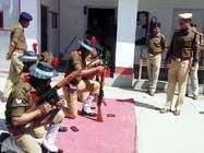 एसएसपी ने किया पुलिस लाइन का निरीक्षण