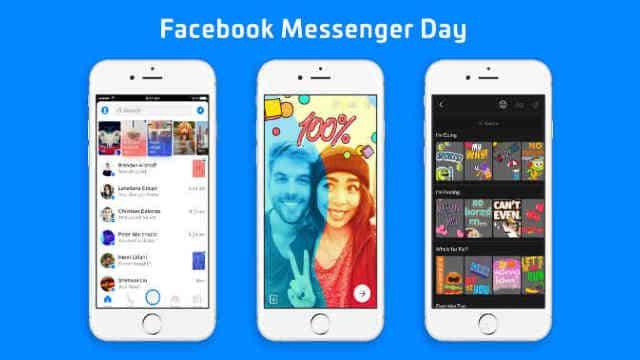 फेसबुक ने स्नैपचैट की तर्ज पर लॉन्च किया मैसेंजर डे फीचर