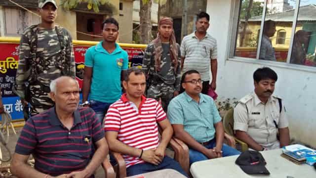 हवेली खड़गपुर में पूर्व नक्सली एरिया कमांडर गिरफ्तार
