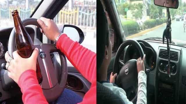 सावधान: ड्रंकन-ड्राइव पर भारी जुर्माना, नाबालिगों की गलती भी माफ नहीं