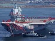 क्षेत्रीय तनाव के बीच चीन ने दूसरे विमानवाहक पोत को पानी में उतारा