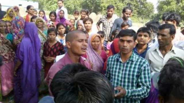Sitapur, Qutubpur, contract, power worker, death, jam