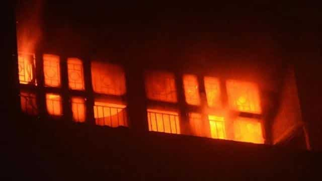 Fire at King George's Medical University trauma centre