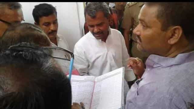 Suddenly, Mankapur, CHC, Minister, Ramapati Shastri, Record, checked