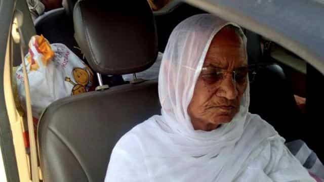 राम रहीम की मां नसीब कौर (Photo-HT)
