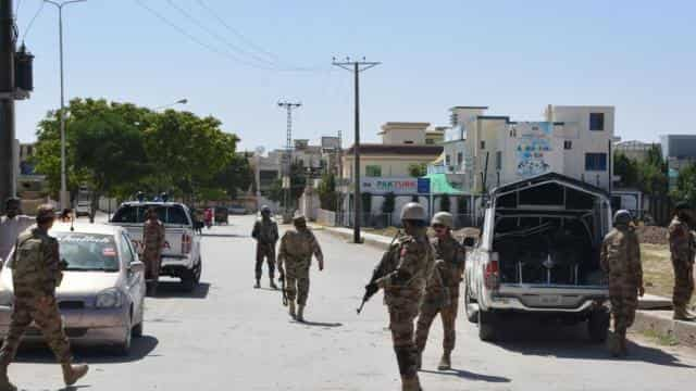 Security was tightened after the incident and a search operation was launched in the Jiwani area