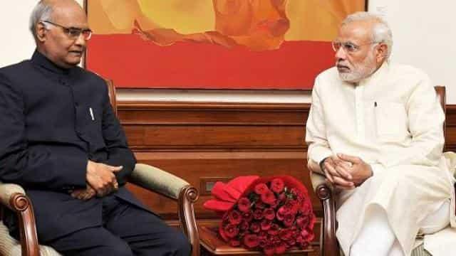 रामनाथ कोविंद और पीएम मोदी