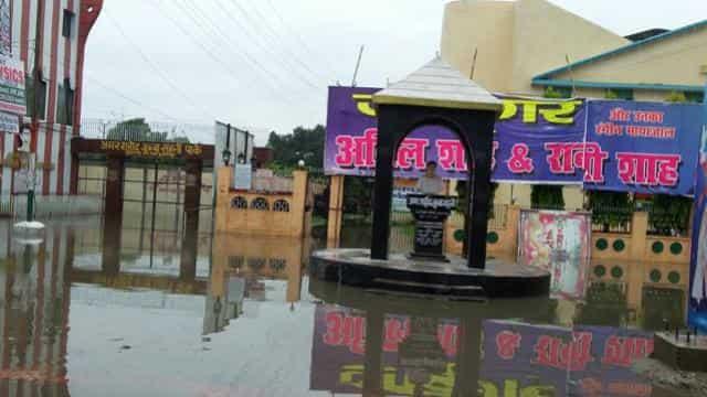 rain in muzzafarpur