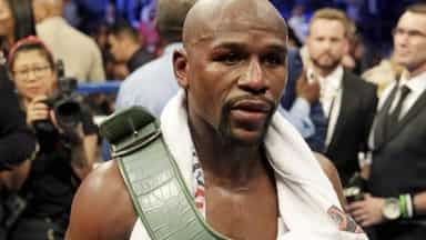 Floyd Mayweather beats Conor McGregor