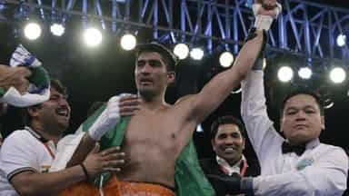 Vijender Singh win