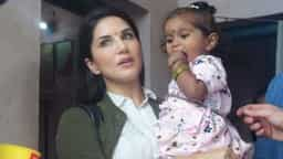 sunny leone with daughter nisha