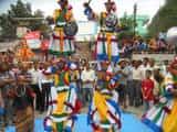 चौखुटिया में राम गंगा में हुआ दूर्गा मां की मूर्तियों का विसर्जन