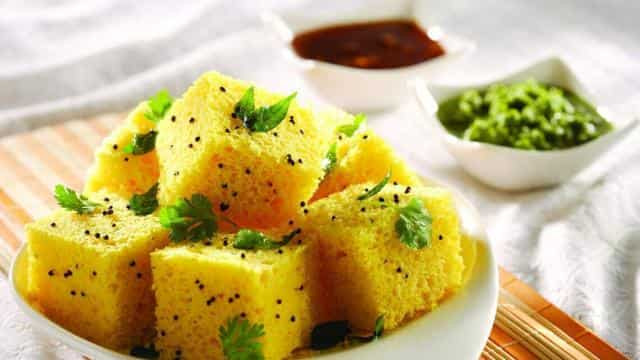 Image result for Dhokla