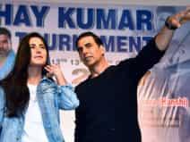 Katrina and Akshay during Kudo tournament