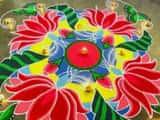 भारत में रंगोली बनाने की परंपरा काफी पुरानी है