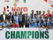 Asia Cup Hockey India win title