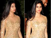 Suhana Khan looks gorgeous at moms party