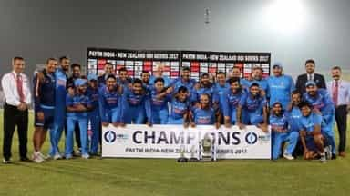 India beat New Zealand by 6 runs