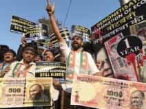 Bank queues in Delhi after demonetisation