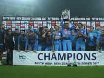 भारत ने न्यूजीलैंड को तीसरे और निर्णायक टी20 मुकाबले में 6 रन से हराकर 3 मैचों की सीरीज पर 2-1 से कब
