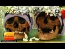 \'डे ऑफ स्कल्स\' बोलिविया के शहर लापाज में खोपड़ियों की पूजा, करते हैं पूर्वजों को याद