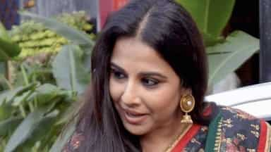 Vidya Balan during a promotional event